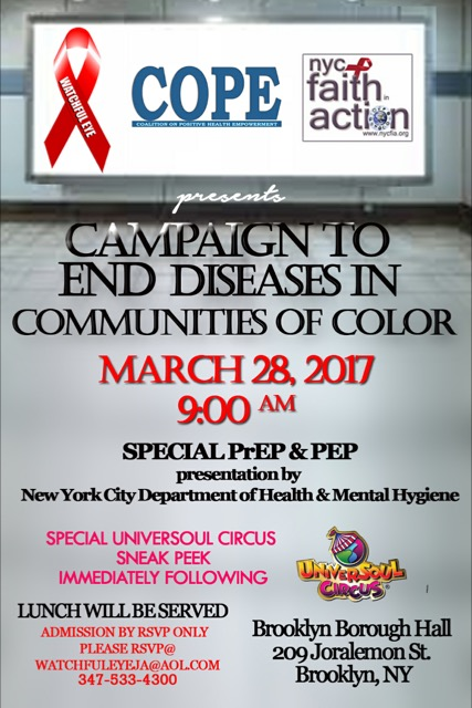 Campaign to end Diseases in Communities of Color